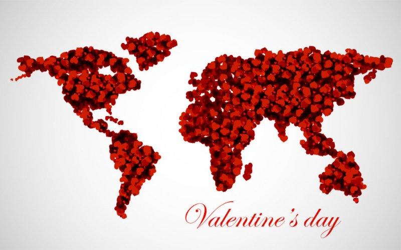 Jak obchodzą Walentynki na Świecie?